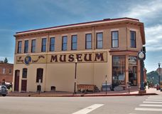Museo in vincitore del centro, Colorado immagini stock