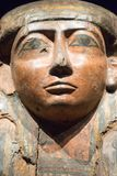Museo y Art Gallery Egyptian Sacrophagus Closeup tasmanos Imagen de archivo