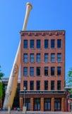 Museo y fábrica del bateador de Louisville Foto de archivo