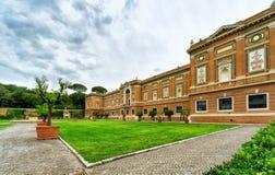 Museo y jardín, Roma del Vaticano Imágenes de archivo libres de regalías