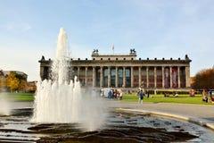Museo y jardines en Berlín, Alemania Foto de archivo libre de regalías