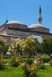 Museo y mausoleo de Mevlana en Konya Turquía foto de archivo