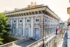 Museopalazzo reale in Genua, Italië Stock Afbeelding
