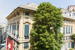 Museopalazzo reale in Genua, Italië Royalty-vrije Stock Afbeelding