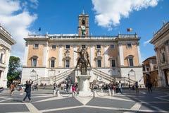 Museos de Capitoline Imagenes de archivo