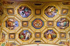 Museos del Vaticano Fotos de archivo