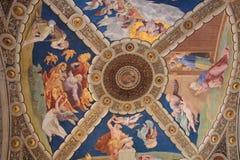 Museos del Vaticano y capilla de Sistine Fotos de archivo