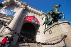 Museu americano da história natural NYC Imagem de Stock Royalty Free