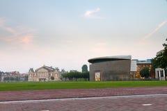 Museu Amsterdão quadrada Imagem de Stock Royalty Free