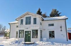 Museu ao ar livre Hägnan em Gammelstad Imagens de Stock Royalty Free