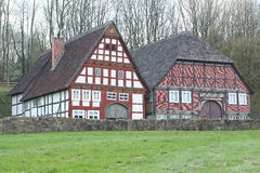 Museu ao ar livre Hessenpark, Alemanha Imagens de Stock