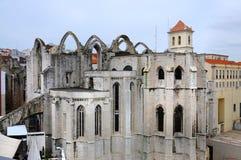 Museu Arqueiologico do Carmo stock foto's