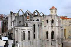Museu Arqueiologico do Carmo Stock Photos