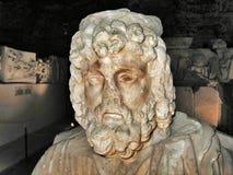 Museu arqueológico italiano em Heropolis Fotografia de Stock