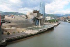 Museu Bilbao de Guggenheim Fotos de Stock Royalty Free