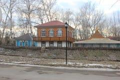 Museu bonito da casa do cossaco imagens de stock