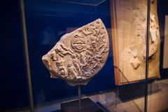 Museu britânico em Londres imagem de stock