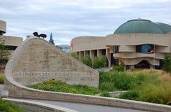 Museu canadense da civilização, Gatineau, Quebeque Foto de Stock Royalty Free