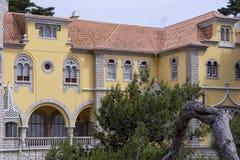 Museu Condes de Castro Guimarães, Cascais, Portogallo Immagine Stock Libera da Diritti
