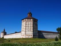 Museu - conserva, monastério de Kirillo-Belozersky verão fotografia de stock