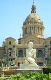 Museu d'Art Nacional De Catalunya Obraz Royalty Free