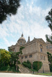 Museu d'Art Nacional De Catalunya Barcelona Hiszpania Obrazy Royalty Free