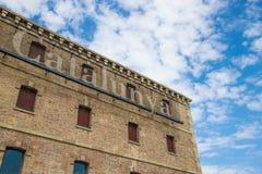 Museu d Historia de Catalunya - Barcelona Spanien Lizenzfreies Stockfoto