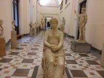 Museu da arqueologia, Nápoles Fotografia de Stock