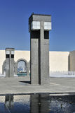 Museu da arte islâmica, Doha, Qatar fotografia de stock