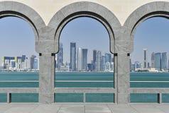 Museu da arte islâmica, Doha, Qatar fotografia de stock royalty free