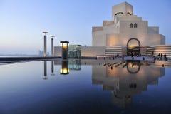 Museu da arte islâmica, Doha, Qatar imagens de stock