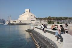 Museu da arte islâmica em Doha Imagem de Stock