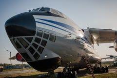 Museu da aviação do estado de Ucrânia Foto de Stock Royalty Free