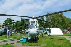 Museu da aviação em Bielorrússia Imagem de Stock Royalty Free