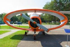 Museu da aviação em Bielorrússia Imagens de Stock Royalty Free