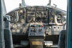 Museu da aviação em Bielorrússia Imagem de Stock
