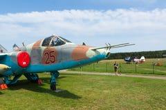 Museu da aviação em Bielorrússia Fotografia de Stock