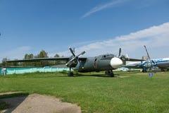 Museu da aviação em Bielorrússia Fotos de Stock Royalty Free