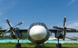Museu da aviação em Bielorrússia Foto de Stock Royalty Free