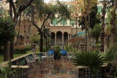 Museu da casa de Moghadam, Tehran, Irã Fotos de Stock Royalty Free