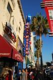Museu da cera na caminhada de Hollywood da fama Fotografia de Stock