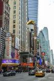 Museu da cera na 42nd rua perto do Times Square em New York City fotografia de stock royalty free