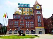 Museu da cerveja de Tsingtao imagens de stock royalty free