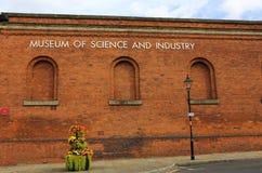 Museu da ciência e da indústria Manchester Fotografia de Stock