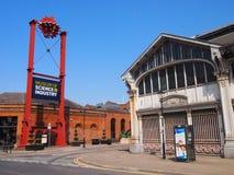 Museu da ciência e da indústria, Manchester Fotografia de Stock