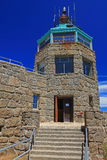 Museu da cimeira do parque de estado do Mt. Diablo imagem de stock