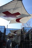 Museu da cruz vermelha Imagens de Stock