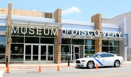 Museu da descoberta Little Rock imagens de stock royalty free