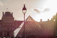 Museu da grelha, Paris, France Estilo retro Fotografia de Stock