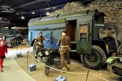 Museu da guerra de Duxford, Inglaterra - 21 de março de 2012 Museu imperial da guerra de Duxford no U K imagem de stock royalty free